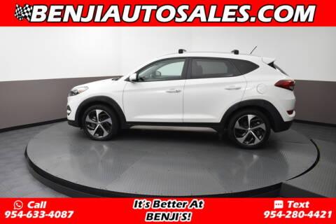 2017 Hyundai Tucson Sport for sale at Benji Auto Sales in West Park FL