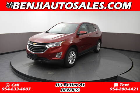 2018 Chevrolet Equinox LT for sale at Benji Auto Sales in West Park FL