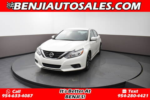 2018 Nissan Altima 2.5 SL for sale at Benji Auto Sales in West Park FL