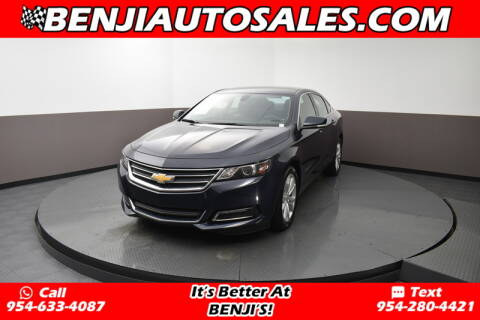 2019 Chevrolet Impala LT for sale at Benji Auto Sales in West Park FL