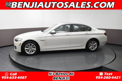 2014 BMW 5 Series 528i for sale at Benji Auto Sales in West Park FL