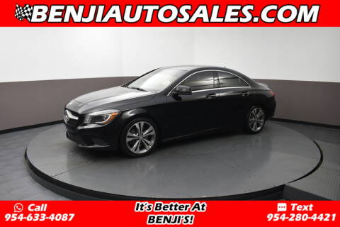 2016 Mercedes-Benz CLA CLA 250 for sale at Benji Auto Sales in West Park FL