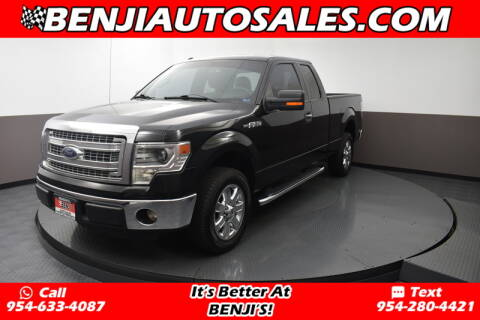 2014 Ford F-150 for sale at Benji Auto Sales in West Park FL