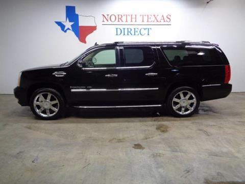 2009 Cadillac Escalade ESV for sale in Arlington, TX