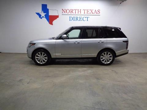 2015 Land Rover Range Rover for sale in Arlington, TX