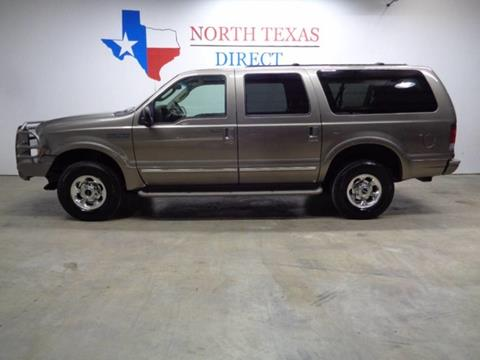 2003 Ford Excursion for sale in Arlington, TX