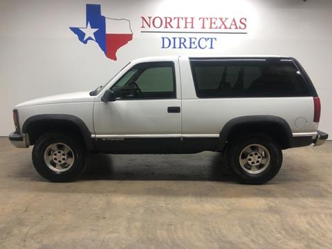 1999 Chevrolet Tahoe for sale in Mansfield, TX