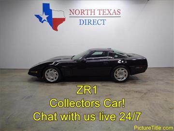 1991 Chevrolet Corvette for sale in Arlington, TX