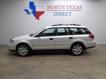 2008 Subaru Outback for sale in Arlington, TX