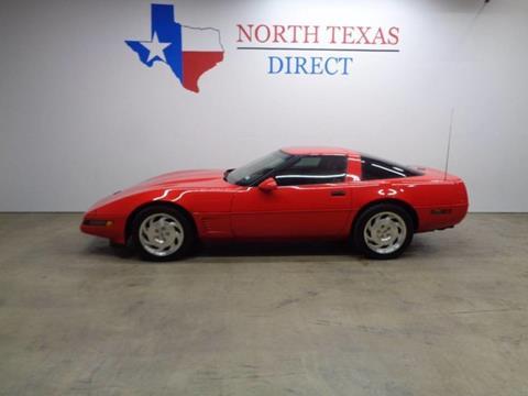 1995 Chevrolet Corvette for sale in Arlington, TX