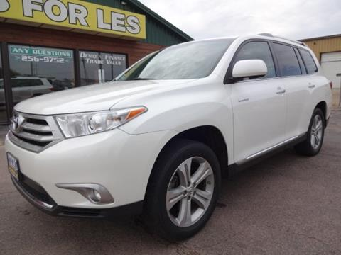 2013 Toyota Highlander for sale in Madison SD