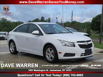 2013 Chevrolet Cruze for sale in Jamestown, NY
