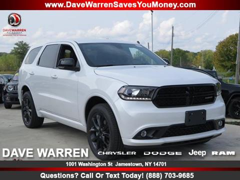 2018 Dodge Durango for sale in Jamestown, NY