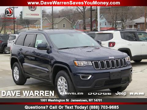 2018 Jeep Grand Cherokee for sale in Jamestown, NY