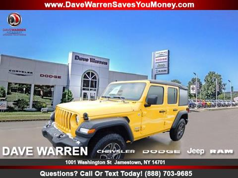 2019 Jeep Wrangler Unlimited for sale in Jamestown, NY