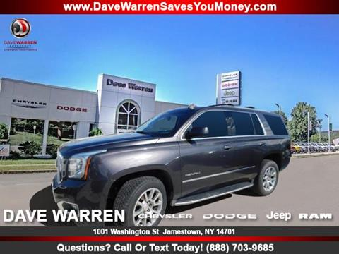 2017 GMC Yukon for sale in Jamestown, NY