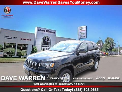 2020 Jeep Grand Cherokee for sale in Jamestown, NY