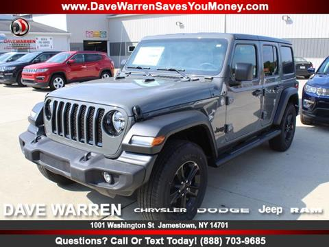 2020 Jeep Wrangler Unlimited for sale in Jamestown, NY