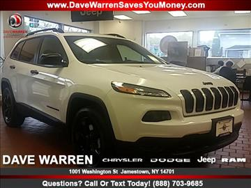 2017 Jeep Cherokee for sale in Jamestown, NY