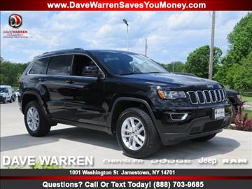 2017 Jeep Grand Cherokee for sale in Jamestown, NY