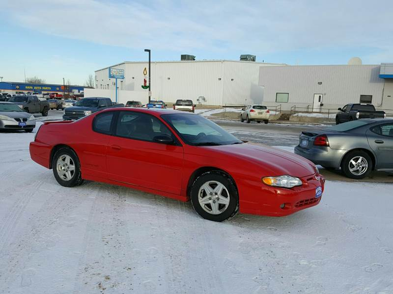 2003 chevrolet monte carlo ss 2dr coupe in devils lake nd select auto sales 2003 chevrolet monte carlo ss 2dr coupe