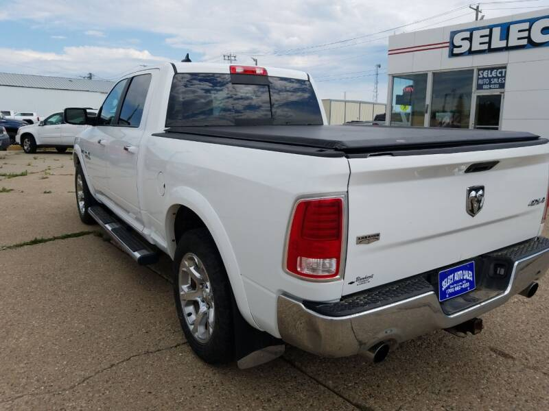 2014 RAM Ram Pickup 1500 4x4 Laramie 4dr Crew Cab 6.3 ft. SB Pickup - Devils Lake ND