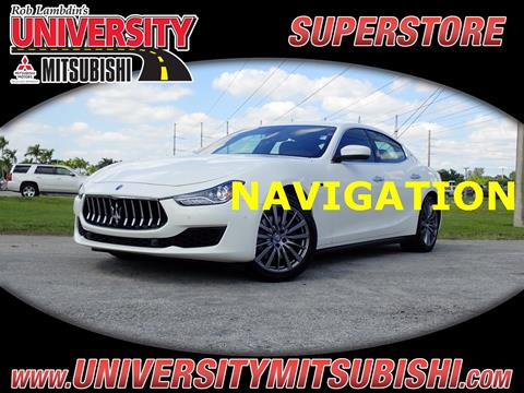 2018 Maserati Ghibli for sale in Davie, FL