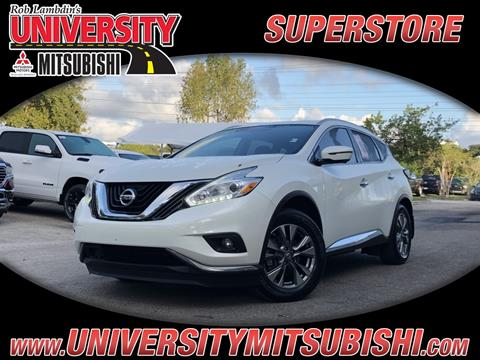 2016 Nissan Murano for sale in Davie, FL