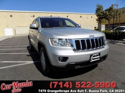 2011 Jeep Grand Cherokee for sale in Buena Park, CA