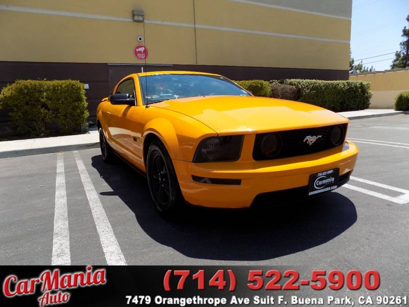 2008 Ford Mustang GT Deluxe 2dr Fastback - Buena Park CA
