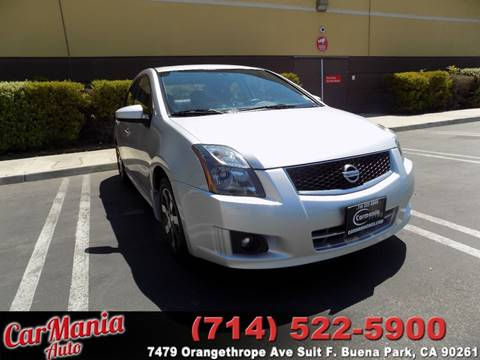2012 Nissan Sentra for sale in Buena Park, CA