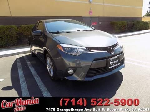 2015 Toyota Corolla for sale in Buena Park, CA