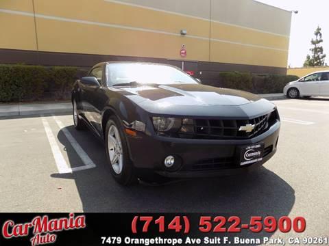 2012 Chevrolet Camaro for sale in Buena Park, CA