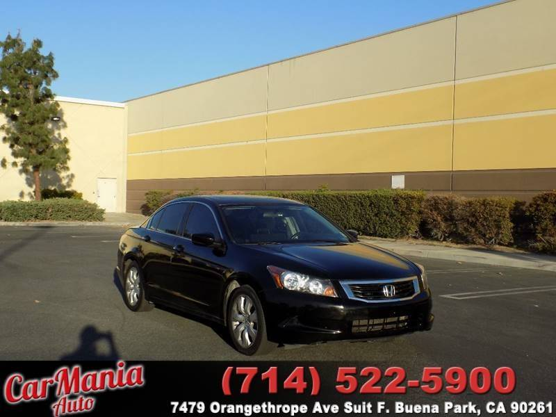 2009 Honda Accord EX 4dr Sedan 5A   Buena Park CA