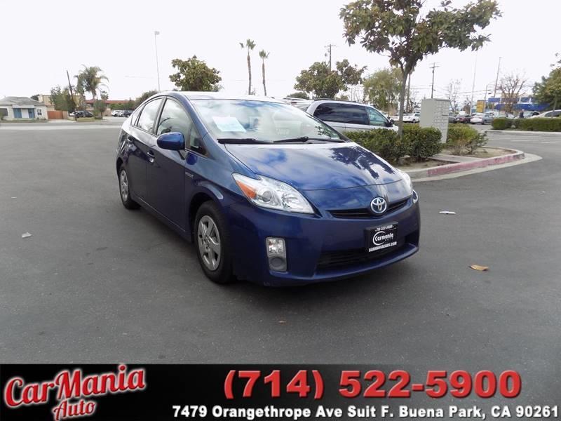 2010 Toyota Prius V 4dr Hatchback   Buena Park CA
