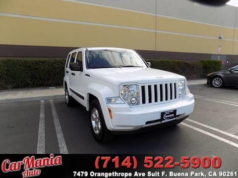2012 Jeep Liberty for sale in Buena Park, CA