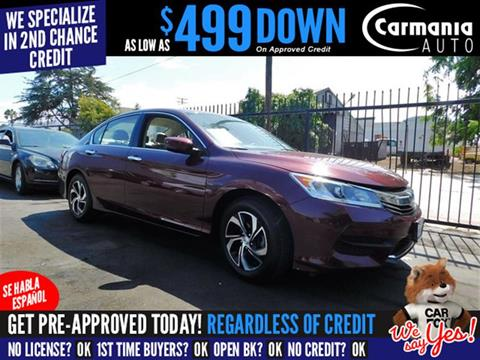 2017 Honda Accord for sale in Buena Park, CA