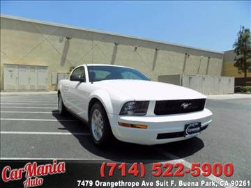 2008 Ford Mustang for sale in Buena Park, CA
