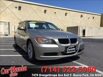 2007 BMW 3 Series for sale in Buena Park, CA