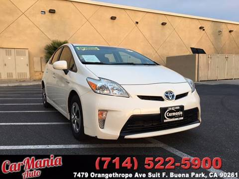 2012 Toyota Prius for sale in Buena Park, CA