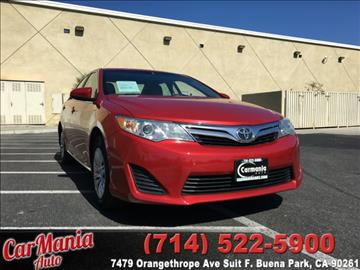 2013 Toyota Camry for sale in Buena Park, CA