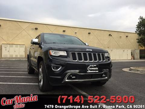 2014 Jeep Grand Cherokee for sale in Buena Park, CA