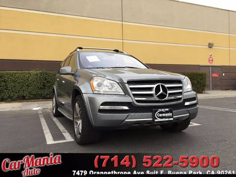2012 Mercedes-Benz GL-Class for sale in Buena Park, CA