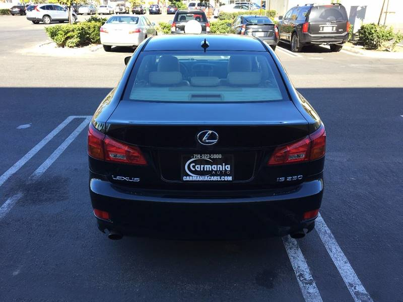 2007 Lexus IS 250 4dr Sedan (2.5L V6 6A) - Buena Park CA