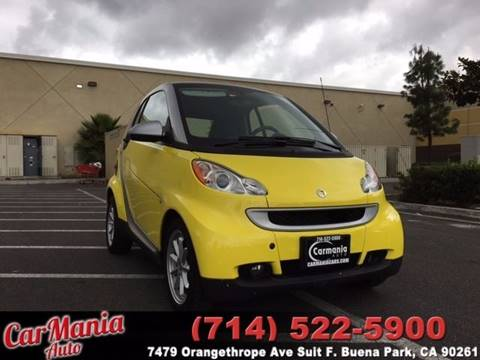 2008 Smart fortwo for sale in Buena Park, CA