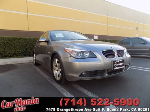 2007 BMW 5 Series for sale in Buena Park, CA