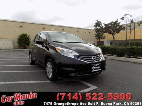 2015 Nissan Versa Note for sale in Buena Park, CA