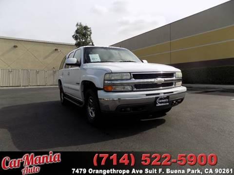 2003 Chevrolet Tahoe for sale in Buena Park, CA