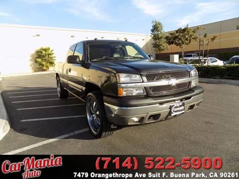 2005 Chevrolet Silverado 1500 for sale in Buena Park, CA