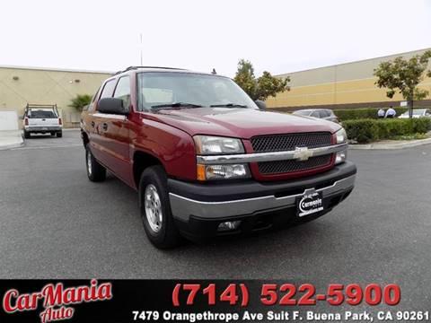 2006 Chevrolet Avalanche for sale in Buena Park, CA